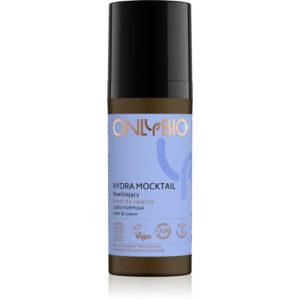 OnlyBio Hydra Mocktail nawilżający krem do twarzy lekka formuła 50 ml Kosmetyki naturalne w UK Dunia Organic