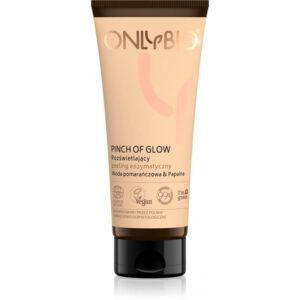 OnlyBio Pinch Of Glow Rozświetlający peeling enzymatyczny TUBA 75 ml Kosmetyki naturalne w UK Dunia Organic