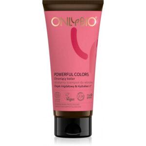 OnlyBio Powerful Colors Chroniący kolor micelarny szampon do włosów TUBA 200 mll Kosmetyki naturalne w UK Dunia Organic