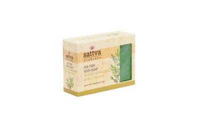 Sattva Ayurveda Mydło glicerynowe Drzewo herbaciane 125g